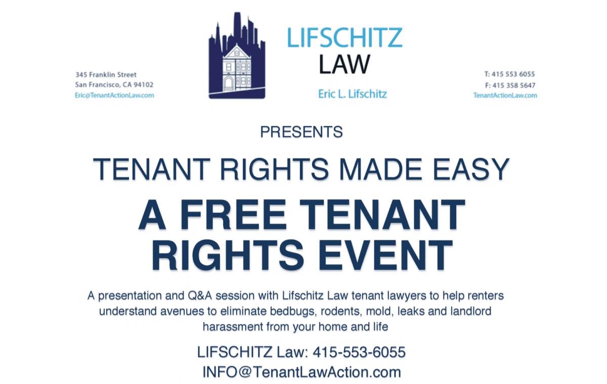 LPTLC Tenant Rights